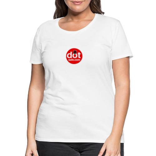 TheDotRadio.com LOGO - Women's Premium T-Shirt