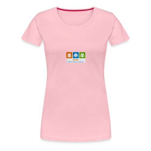 IMG 3596 - Dame premium T-shirt