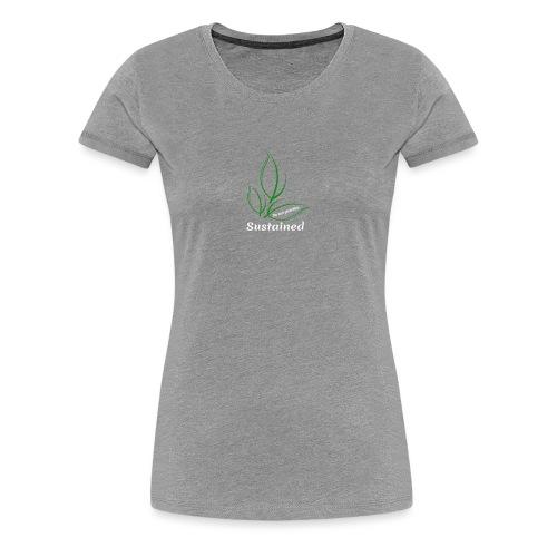 Sustained Sweatshirt Navy - Dame premium T-shirt