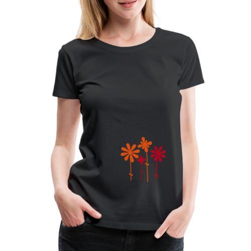 Sommerblume - Frauen Premium T-Shirt