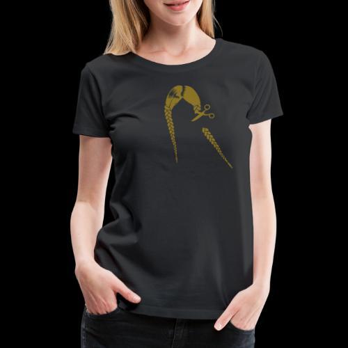 Greta FFF Fridays for future & Fridays for Hubraum - Frauen Premium T-Shirt