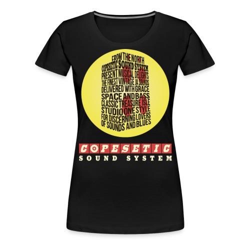 copesetic speaker logo png - Women's Premium T-Shirt