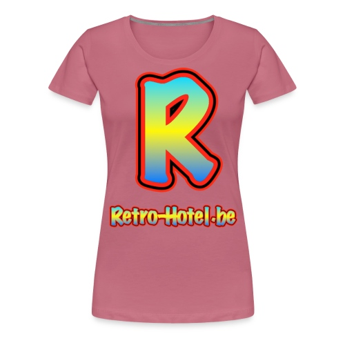 tshirtlogo png - Vrouwen Premium T-shirt