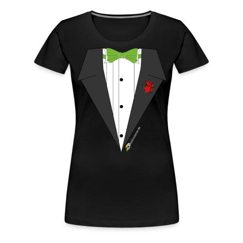 Gala Hero - Positivstarter Official Black Shirt - Frauen Premium T-Shirt