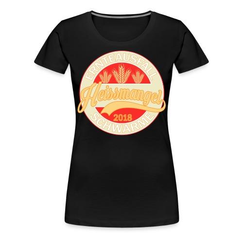 Ernteausfall red 2 - Frauen Premium T-Shirt