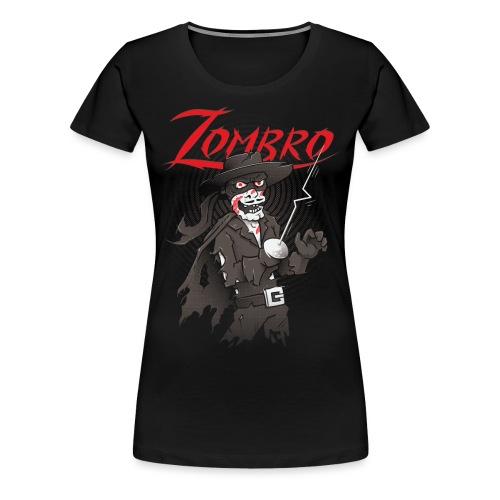 Zombro - Women's Premium T-Shirt