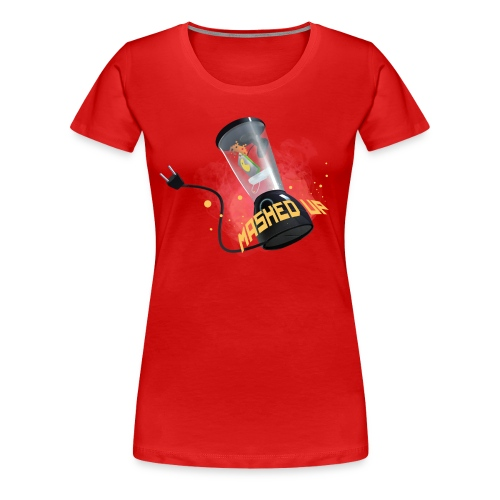 mashedtshirt - Premium-T-shirt dam