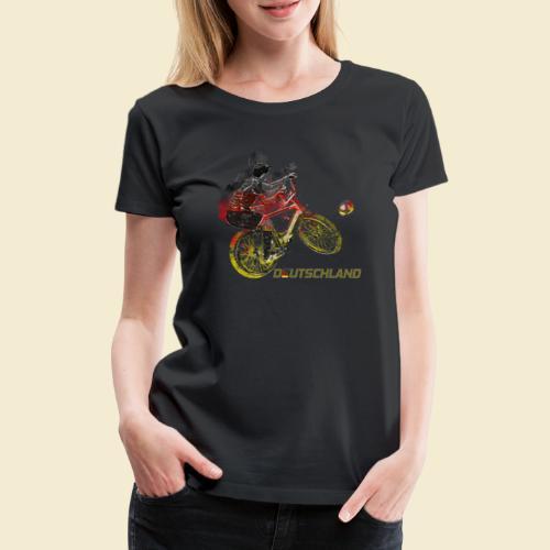 Radball   Deutschland - Frauen Premium T-Shirt