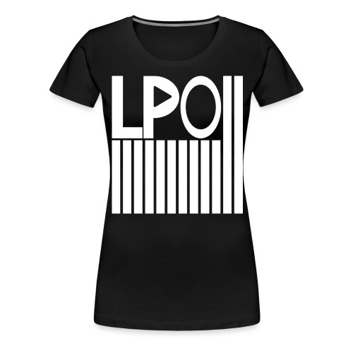 LPO mit Striche png - Frauen Premium T-Shirt