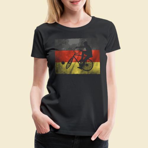 Radball | Flagge Deutschland - Frauen Premium T-Shirt