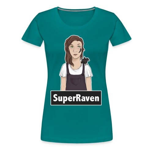 SuperRaven - Women's Premium T-Shirt