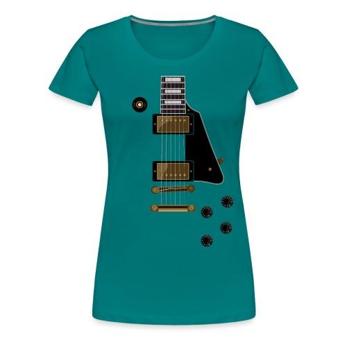 Paula Gold - Frauen Premium T-Shirt
