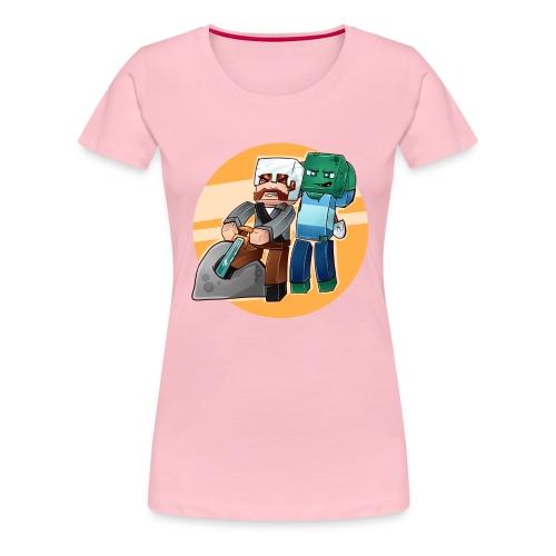 SverdisteinBG png - Premium T-skjorte for kvinner