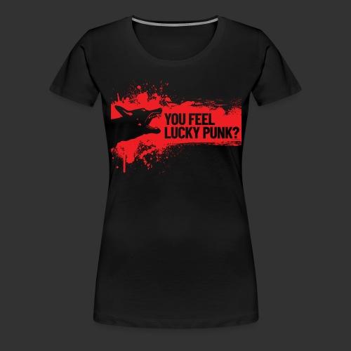 K9 Punk - Naisten premium t-paita
