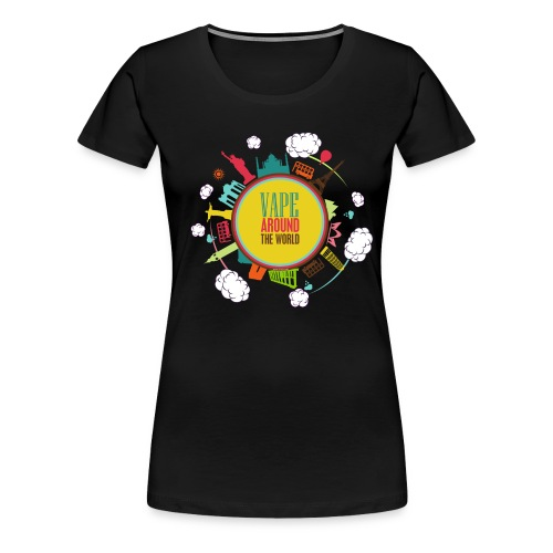 arondworld2 png - T-shirt Premium Femme