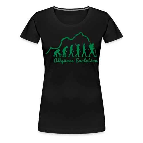 allgaeuer-evolution-fin2 - Frauen Premium T-Shirt
