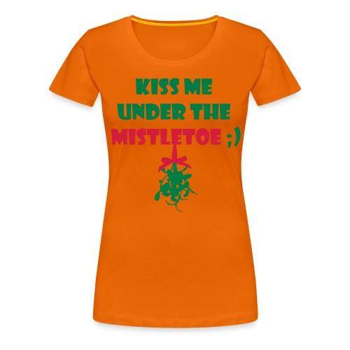 mistletoe - Frauen Premium T-Shirt