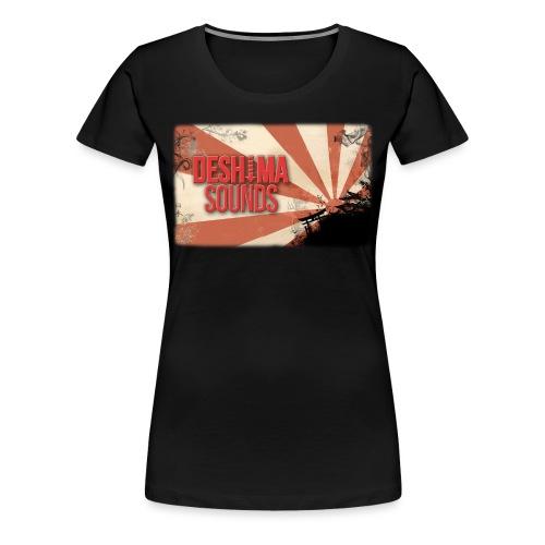 Deshima Sounds 12 2014 - Vrouwen Premium T-shirt