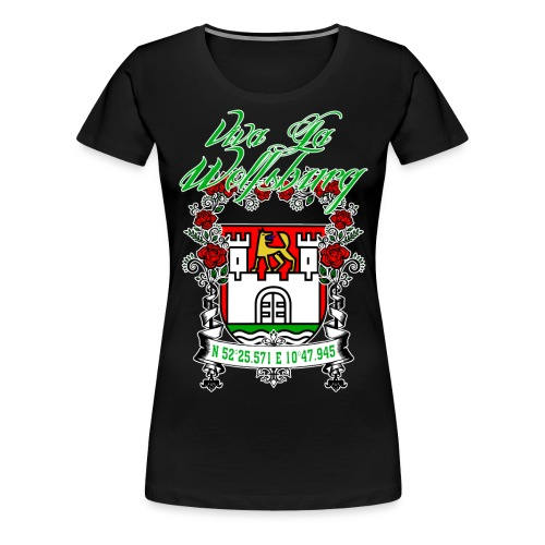 Wolfsburg - Frauen Premium T-Shirt