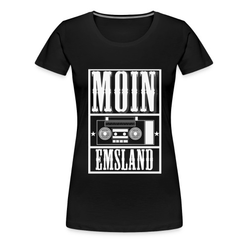 radio1 weiß big png png - Frauen Premium T-Shirt