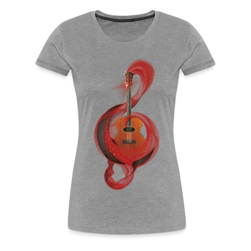Power of music - Maglietta Premium da donna
