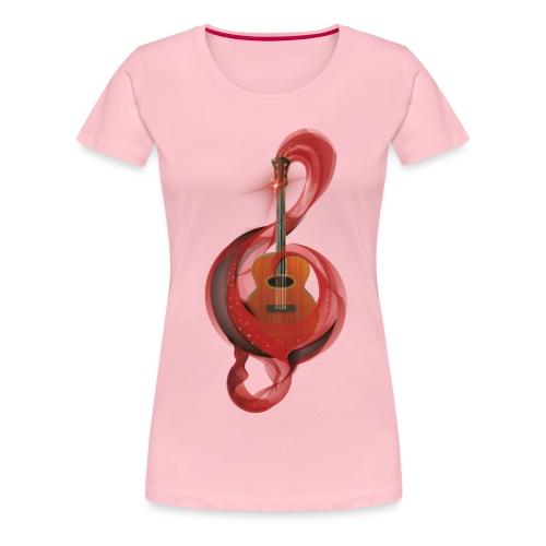 Power of music - Maglietta Premium da donna
