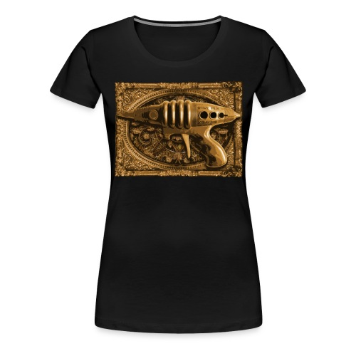 SteampunkGun - Vrouwen Premium T-shirt