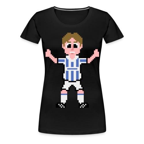 cowan front salute png - Women's Premium T-Shirt