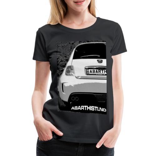 Black White 500 - Premium T-skjorte for kvinner