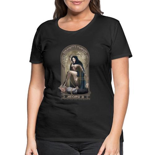 woman vs trump - Premium T-skjorte for kvinner