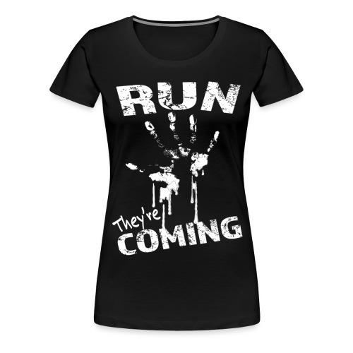 run_theyrecoming - Women's Premium T-Shirt