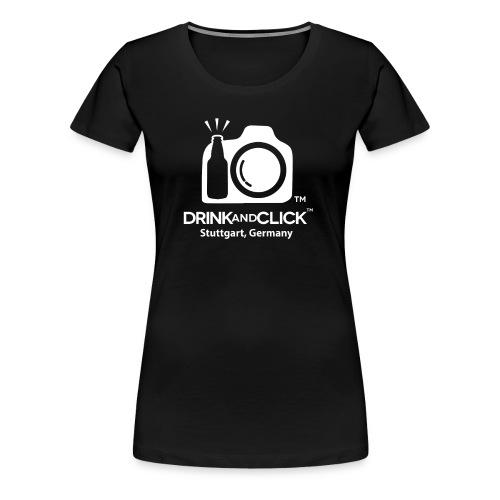 stuttgart LARGE LOGO WHITE png - Women's Premium T-Shirt