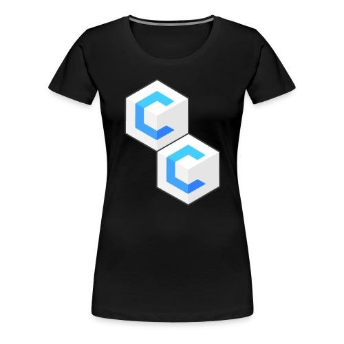 cclogo png - Women's Premium T-Shirt