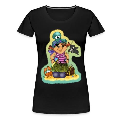 Ahoi nech, kloine Piroaaadin - Frauen Premium T-Shirt