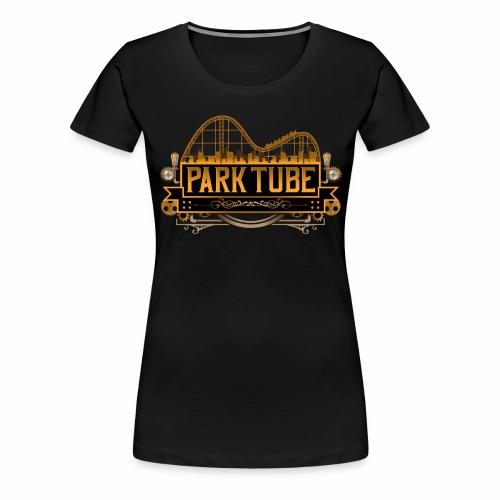 ParkTube Steampunk Logo - Frauen Premium T-Shirt