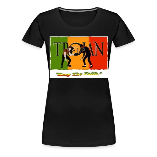 Trojan logo png png - Women's Premium T-Shirt