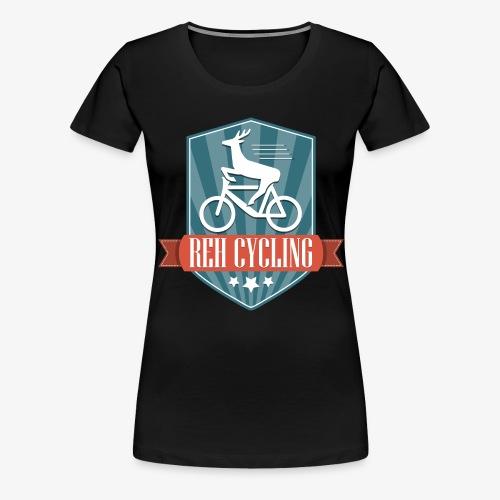 REH Cycling (Retro) - Frauen Premium T-Shirt