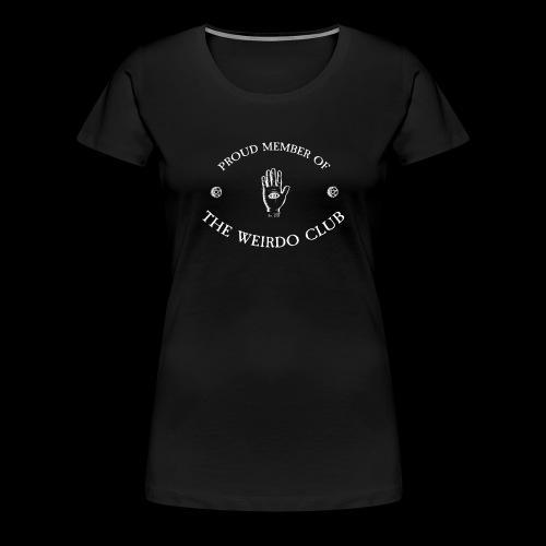 weirdoclub png - Women's Premium T-Shirt