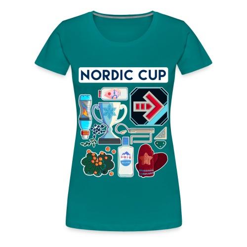 Nordic 2018 - Naisten premium t-paita