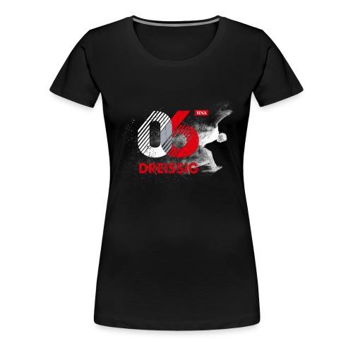 06:30 Logo sw - Frauen Premium T-Shirt