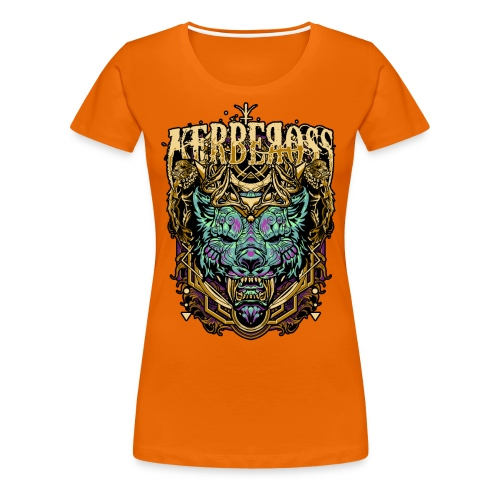 Kerbeross Okami - Vrouwen Premium T-shirt