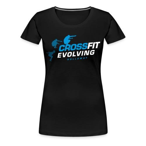 Holloway - Black BG - Blu - Women's Premium T-Shirt