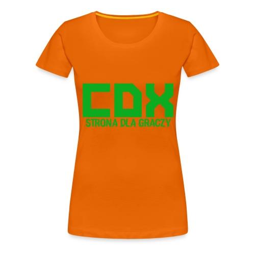 CDX-LOGO - Koszulka damska Premium
