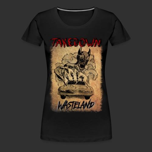 Wasteland Artwork - T-shirt Premium Femme