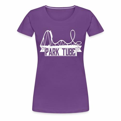 ParkTube Banner mit Achterbahn - Frauen Premium T-Shirt