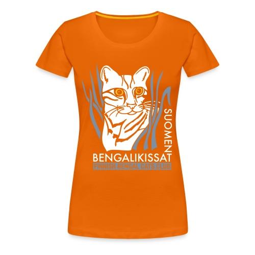 Bengaliligo mustalle - Naisten premium t-paita