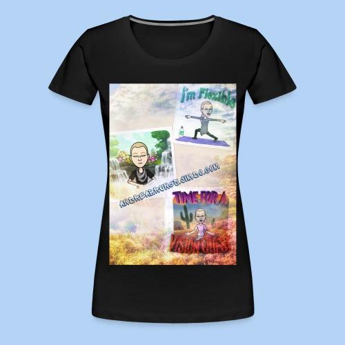 Deine Auszeit - Frauen Premium T-Shirt