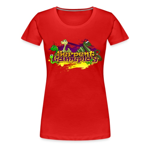 spdesign3 png - Vrouwen Premium T-shirt