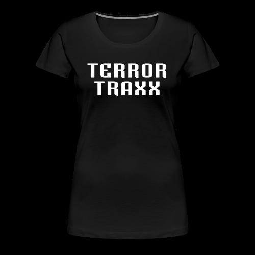Terror Traxx - Women's Premium T-Shirt