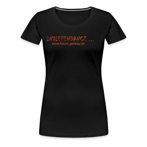 indiependance shirt 1 - Frauen Premium T-Shirt